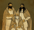 Baran and his sons baranor and boron by jubah.png